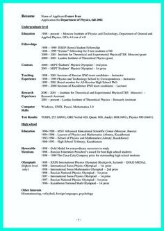 nice making simple college golf resume with basic but effective information check more at http - College Golf Resume