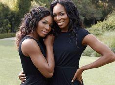 Venus and Serena Williams. rivals, champions, sisters.