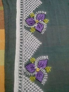 This Pin was discovered by Zey Stitch Patterns, Knitting Patterns, Crochet Patterns, Crochet Flowers, Crochet Lace, Crochet Needles, Lacemaking, Point Lace, Needle Lace