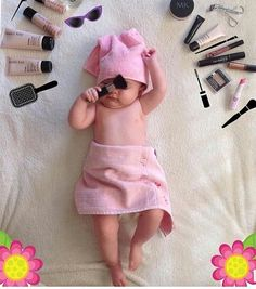 58 Trendy 3 Month Old Baby Pictures Girl Funny 3 Month Old Baby Pictures, Monthly Baby Photos, Baby Girl Pictures, Funny Baby Pictures, Newborn Baby Photos, Baby Poses, Baby Monat Für Monat, Foto Baby, Newborn Baby Photography