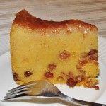 Jamaican Cornmeal Pudding Recipe. #jamaica #foodie #travel.