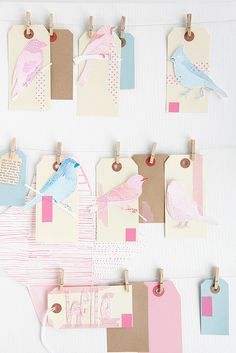 Sweet Birdies message board idea for a kids party