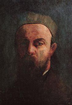 Self-Portrait  Artist:Odilon Redon