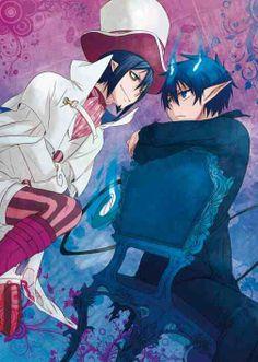 Mephisto Pheles & Rin Okumura - Ao no Exorcist / Blue Exorcist Ao No Exorcist, Blue Exorcist Mephisto, Blue Exorcist Anime, Manga Anime, Fanart Manga, Fanarts Anime, Anime Characters, Anime Art, I Love Anime