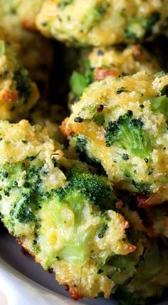 Broccoli Tater Tots - Serve as a side dish or tasty appetizer ❊