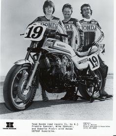 40 Years of Superbike Racing Flat Track Racing, Cafe Racing, Auto Racing, Drag Racing, Cb750 Cafe Racer, Cafe Racer Bikes, Freddie Spencer, Honda Cb1100, Motogp Valentino Rossi
