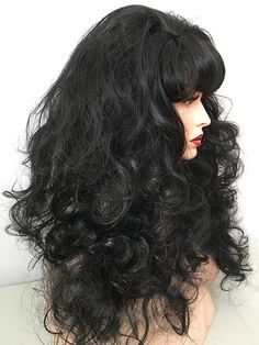 Cher, Moonstruck, Classic, Drag, Queen, Wig, Medium Auburn,Light Auburn, Dark Auburn, Creamy Blonde, Black, Bright Red