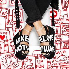 All we are saying is give peace and platforms a chance. @jeffreycampbell http://www.nastygal.com/whats-new_shoes/jeffrey-campbell-atadoword-suede-platform-sandal?utm_source=pinterest&utm_medium=smm&utm_content=omg_shoes&utm_campaign=pinterest_nastygal