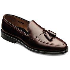 Grayson Cordovan Loafers, 8287 Burgundy Genuine Shell Cordovan