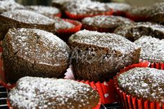 Terapia do Tacho: Queques de alfarroba e mirtilos (Carob and bluberries muffins)