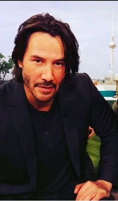 """LOVE, my soulmate, & heart. """"Perhaps the very fabric of you is so very familiar, that we are woven from the same thread"""". I want the last thing I hear to be you whispering my name. Keanu Reeves John Wick, Keanu Charles Reeves, John Rick, Keanu Reeves Quotes, Keanu Reaves, Dream Guy, Good Looking Men, Man Crush, Actors & Actresses"""