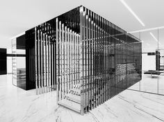 Saint Laurent Store Designed by Hedi Slimane – Fubiz™