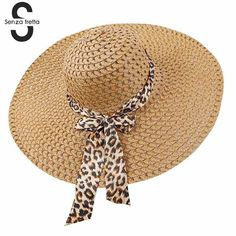 e5efc663ffe69 2018 New Women Summer Hat Wide Brim Straw Hat Summer Beach Hats Floppy Fold  Straw Sun