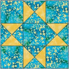 Star quilt-block patterns for an astronomical block challenge