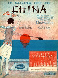 I'm sailing off to China, 1926 (ill.: ?); ref. 3376