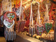 These Heart shaped cookies were all the craze at Oktoberfest. Ladies wore them around their necks. Ok, not Switzerland, but we traveled to Germany while living in Switzerland!