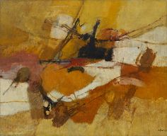 Collection Online | Afro (Afro Basaldella). Yellow Country (Paese giallo). 1957 - Guggenheim Museum