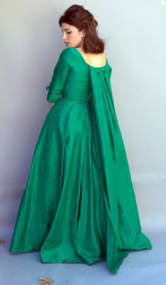 vintage 60's gown