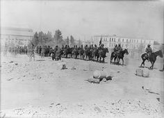 General Chauvel's ride through Damascus, October 1918 2nd October, World War I, Damascus, Middle East, Museum, Indian, History, Photos, Outdoor