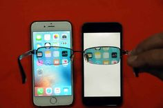 گوشی جدیدی که صفحه نمایش آن برای دیگران غیر قابل مشاهده است  کلیپ