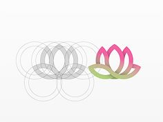 Lotus by Yoga Perdana on dribbble.com