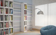 Manhattan Comfort Parana Bookcase 1.0 in White