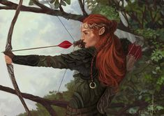 Elven Ranger, Oscar Ezquerra on ArtStation at https://www.artstation.com/artwork/Am5ro