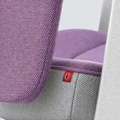 PURE INTERIOR Edition 10 #Lila. Mehr Design für dein #HomeOffice. Mit einer vielfältigen und hochwertigen Stoffauswahl und ihrem ergonomischen Design vereint die PURE INTERIOR Edition bequemes und ergonomisches Sitzen. Das Design und die Farbgebung des PURE machen ihn zu einem optischen Leichtgewicht. Farblich abgestimmt bringt er sich in das Home Office ein und kann sich gleichzeitig zurücknehmen. #schreibtischstuhl #design #interiordesign #Stoff #ergonomie #interstuhl Home Office, Pure Home, Interiordesign, Louis Vuitton Damier, Designer, Pure Products, Pattern, Lilac, Office Home