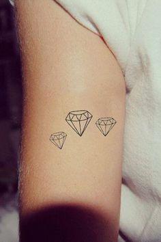 68 Ideas Tattoo Designs Diamond Ink For 2019 S Tattoo, Piercing Tattoo, Mom Tattoos, Little Tattoos, Trendy Tattoos, Finger Tattoos, Body Art Tattoos, Small Tattoos, Tattoos For Women