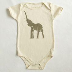 Elephant Organic Infant Baby