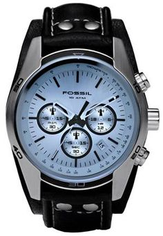 I think a watch on a man is just sexy...  and I can NOT get Chris to wear one - LOL :-p
