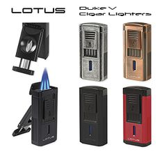 Lotus Duke V Triple Flame Cigar Lighters with Fold-Out V-Cutters Are Available at Milan Tobacconists. Since Providing Superior Customer Service and Quality Tobacco Products. Duke Vs, Tobacco Shop, New Lotus, Cigar Shops, Premium Cigars, Cigar Lighters, Antique Pewter, Pipes