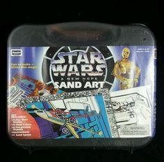 1996 Rose Art Star Wars a New Hope Sand Art NEW/SEALED