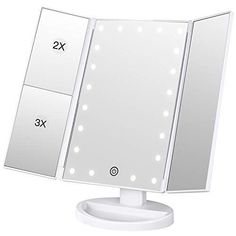 Bathroom Fixtures Straightforward Led Touch Screen Makeup Mirror Professional Vanity Mirror With 16 Led Lights Health Beauty Adjustable Countertop Rotating To Be Distributed All Over The World