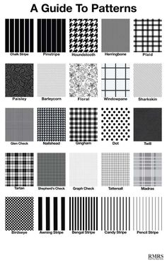 Glossary Of Design Terminology 27 Patterns Crafty Ness Pattern