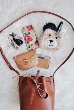What's In My Mansur Gavriel Mini Mini Bucket Bag? | FRESH FIZZLE