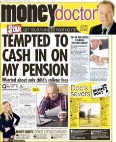 Irish Daily Star  � Money Doctor column Q