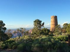 Mary Colter's Watchtower, inside the east entrance of the Grand Canyon is one of my favorite destinations