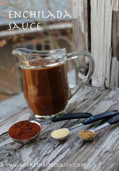 Homemade Enchilada Sauce
