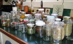 Wow, we have a lot of jars!
