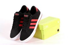premium selection facb2 0035c Adidas Neo Canvas Mens   Womens (unisex) Black Red Outlet Store. Sara Joes  · Shoes