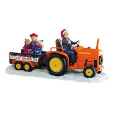 St. Nicholas Square Village Collection Holiday Hayride