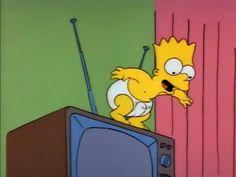 Los Simsons, Simpsons Drawings, Arte Hip Hop, Favorite Tv Shows, My Favorite Things, Funny Times, The Simpsons, Treehouse, Fan Girl