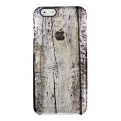 Texture Case: Wood iPhone 6 Case Uncommon Clearly™ Deflector iPhone 6 Case