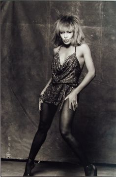 Tina Turner, Los Angeles by Norman Seeff