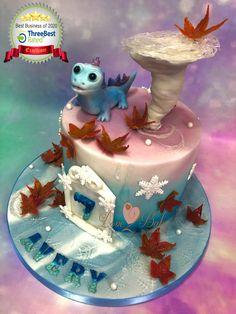 Children's cake Frozen - June 2020 Cake Business, Cake Makers, Novelty Cakes, Homemade Cakes, Frozen, June, Birthday Cake, Children, Desserts