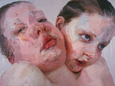 Jenny Saville, Hyphen, Oil on canvas, x cm @ Courtesy of Gagosian Gallery Jenny Saville Paintings, Gagosian Gallery, Kunst Online, Conceptual Art, Artist At Work, Artist Art, Art World, Oil On Canvas, Contemporary Art