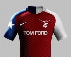 taking luxury good brands and implementing them as sponsors and design influences on some of the worlds biggest football clubs. Football Shirt Designs, Football Tops, Nike Football, Football Jerseys, Camisa Nike, Camisa Polo, Sports Jersey Design, Jersey Designs, Soccer Skills