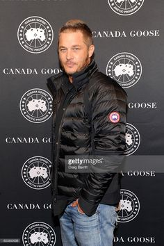 Travis Fimmel Photos Photos - Actor Travis Fimmel attends the Canada Goose New York City Flagship Store opening on November 2016 in New York City. - Canada Goose New York City Flagship Store Opening Vikings Travis Fimmel, Ragnar Lothbrook, Travis Vikings, Ragnar Lothbrok Vikings, King Ragnar, Vikings Tv, Canada Goose New York, Canada Goose Mens, Charlie Hunnam