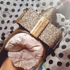 These Issac Mizrahi shoes are so sparkly.  Adorable for .... prom maybe?